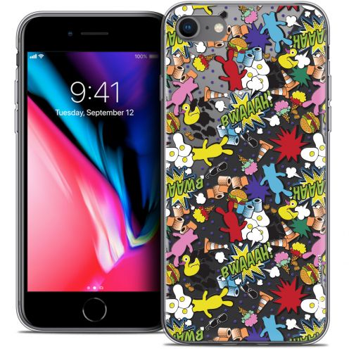 "Carcasa Crystal Gel Apple iPhone 7 (4.7"") Lapins Crétins™ Bwaaah Pattern"