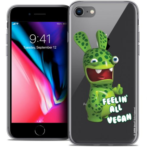 "Carcasa Crystal Gel Apple iPhone 7 (4.7"") Lapins Crétins™ Vegan"