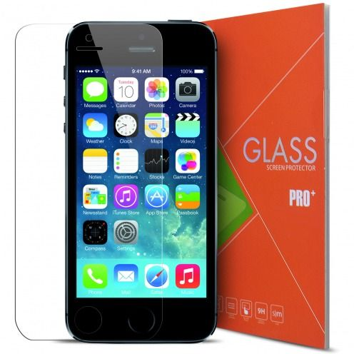 Protección de pantalla de vidrio templado Apple iPhone 5/5S Glass Pro+ 9H Ultra HD 0.33mm