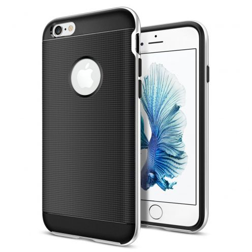 Carcasa Apple iPhone 6/6s (4.7) Neo Bumper Hybrid™ Series Plata