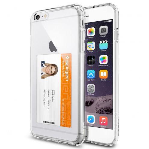 Carcasa Ultra Hybrid ID Series Crystal Clear SGP Spigen® para iPhone 6 Plus
