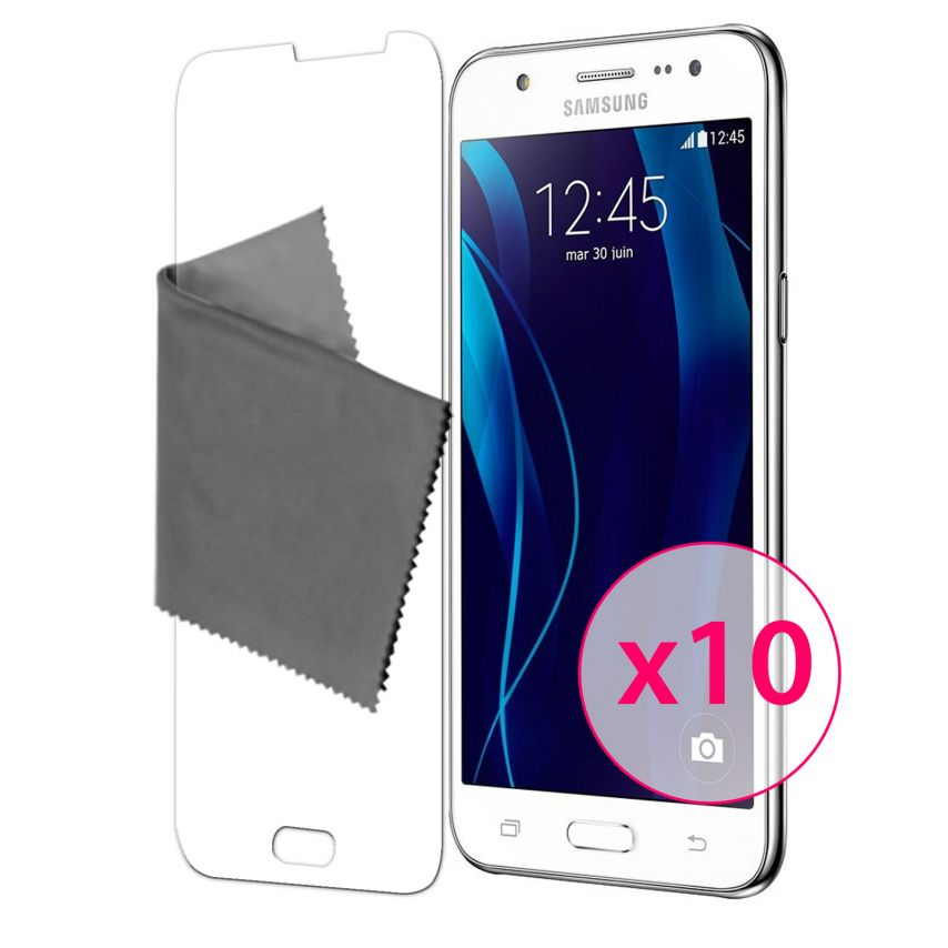 Protector De Pantalla Samsung Galaxy J5 Clubcase® 3H Ultra Clear HD Lote de 10