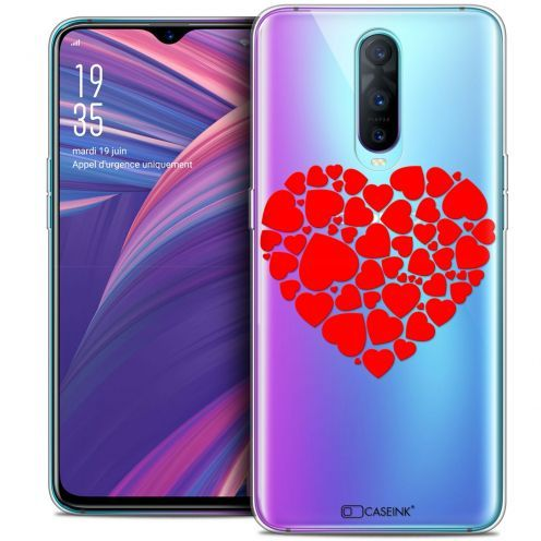 "Carcasa Crystal Gel Extra Fina Oppo RX17 Pro (6.4"") Love Coeur des Coeurs"