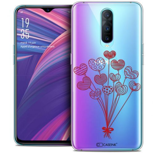 "Carcasa Crystal Gel Extra Fina Oppo RX17 Pro (6.4"") Love Ballons d'amour"