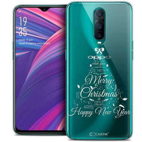 "Carcasa Crystal Gel Extra Fina Oppo RX17 Pro (6.4"") Noël 2017 Calligraphie"