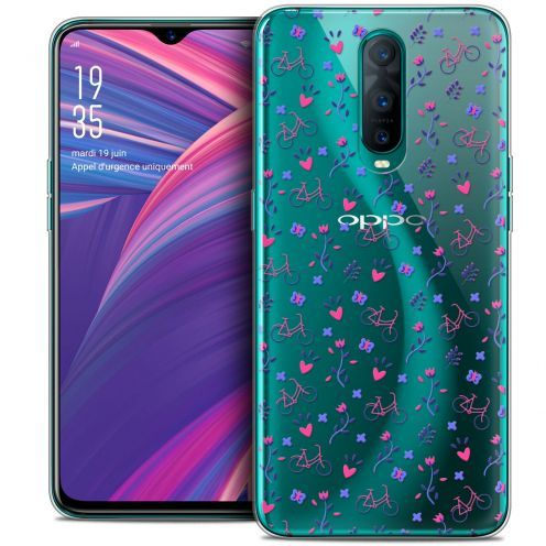 "Carcasa Crystal Gel Extra Fina Oppo RX17 Pro (6.4"") Love Bicycle"