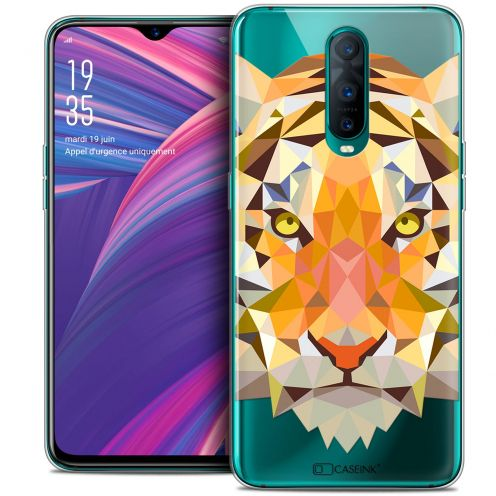 "Carcasa Crystal Gel Extra Fina Oppo RX17 Pro (6.4"") Polygon Animals Tigre"