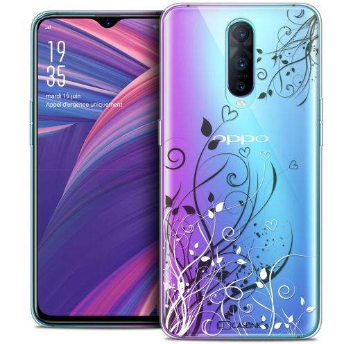 "Carcasa Crystal Gel Extra Fina Oppo RX17 Pro (6.4"") Love Hearts Flowers"