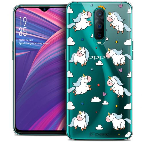 "Carcasa Crystal Gel Extra Fina Oppo RX17 Pro (6.4"") Fantasia Licorne In the Sky"