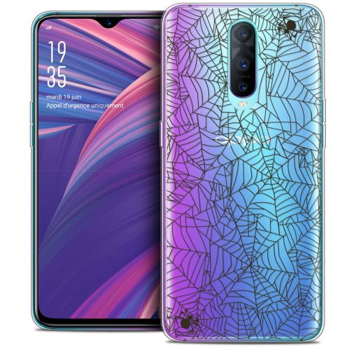 "Carcasa Crystal Gel Extra Fina Oppo RX17 Pro (6.4"") Halloween Spooky Spider"