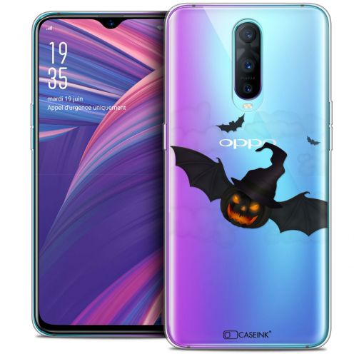"Carcasa Crystal Gel Extra Fina Oppo RX17 Pro (6.4"") Halloween Chauve Citrouille"