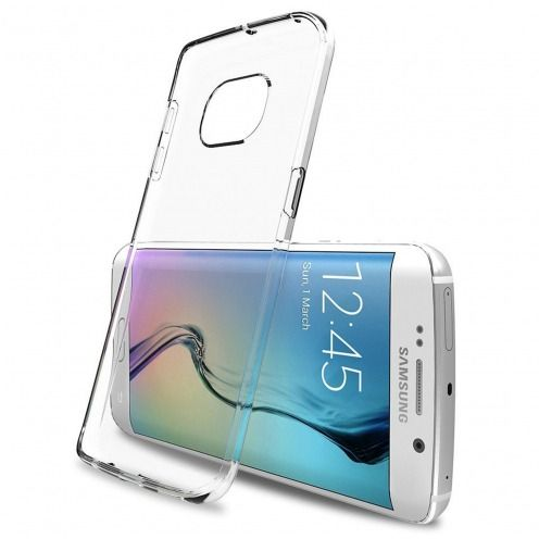 "Casco Flexible ""Crystal Clear"" para Samsung Galaxy S6 Edge+ / Plus"
