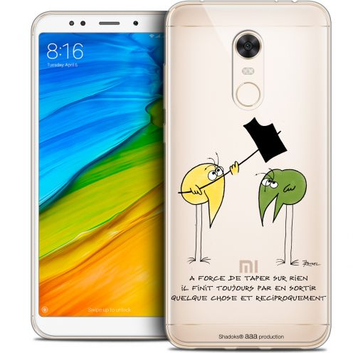 "Carcasa Crystal Gel Extra Fina Xiaomi Redmi 5 Plus (6"") Les Shadoks® A Force"