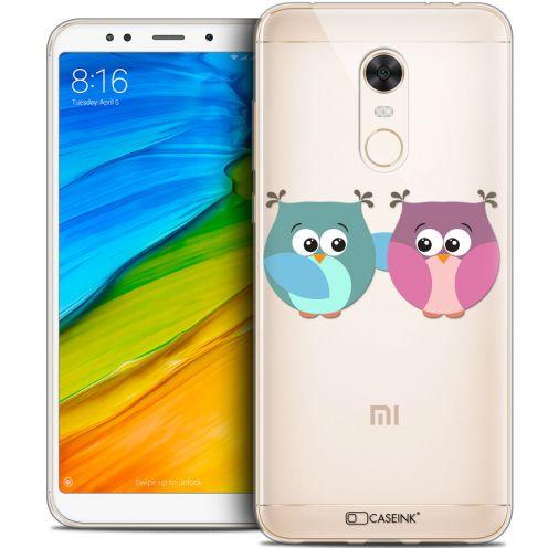 "Carcasa Crystal Gel Extra Fina Xiaomi Redmi 5 Plus (6"") Love Hibous à deux"