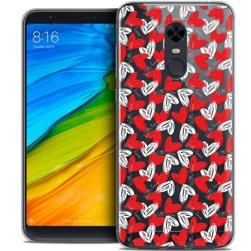 "Carcasa Crystal Gel Extra Fina Xiaomi Redmi 5 Plus (6"") Love With Love"