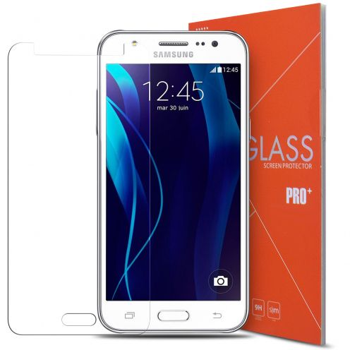 Protección de pantalla de vidrio templado Samsung Galaxy J5 Glass Pro+ 9H Ultra HD 0.33 mm