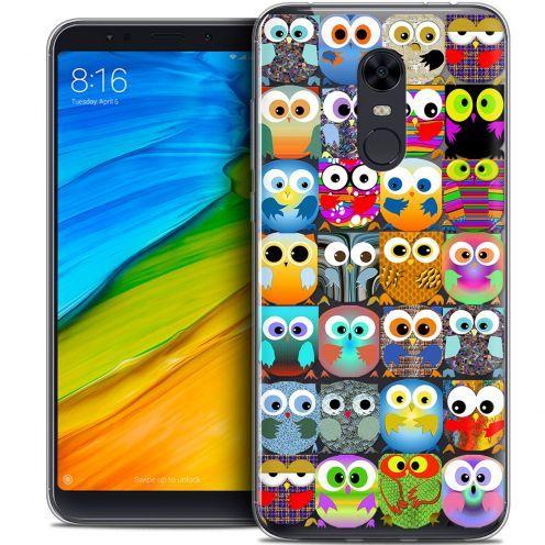 "Carcasa Crystal Gel Extra Fina Xiaomi Redmi 5 Plus (6"") Claude Hibous"