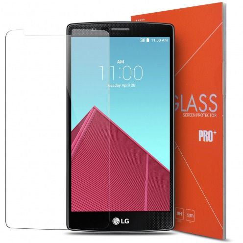 Protección de pantalla de vidrio templado LG G4 Glass Pro+ 9H Ultra HD 0.33 mm
