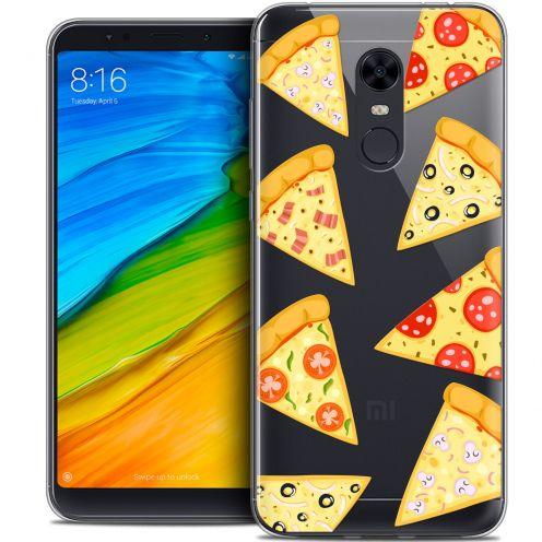 "Carcasa Crystal Gel Extra Fina Xiaomi Redmi 5 Plus (6"") Foodie Pizza"