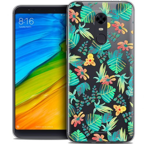"Carcasa Crystal Gel Extra Fina Xiaomi Redmi 5 Plus (6"") Spring Tropical"