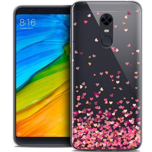 "Carcasa Crystal Gel Extra Fina Xiaomi Redmi 5 Plus (6"") Sweetie Heart Flakes"