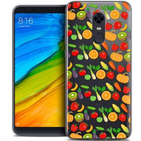"Carcasa Crystal Gel Extra Fina Xiaomi Redmi 5 Plus (6"") Foodie Healthy"