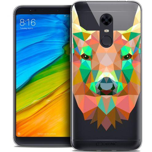 "Carcasa Crystal Gel Extra Fina Xiaomi Redmi 5 Plus (6"") Polygon Animals Ciervo"
