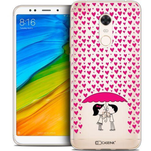 "Carcasa Crystal Gel Extra Fina Xiaomi Redmi 5 Plus (6"") Love Pluie d'Amour"
