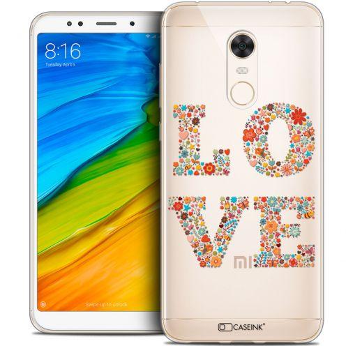 "Carcasa Crystal Gel Extra Fina Xiaomi Redmi 5 Plus (6"") Summer Love Flowers"