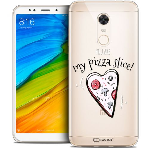 "Carcasa Crystal Gel Extra Fina Xiaomi Redmi 5 Plus (6"") Love My Pizza Slice"