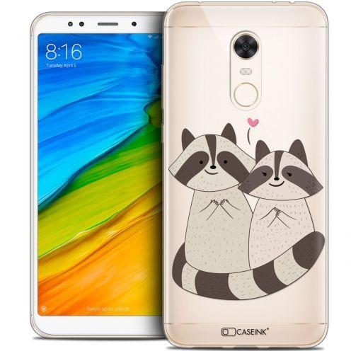 "Carcasa Crystal Gel Extra Fina Xiaomi Redmi 5 Plus (6"") Sweetie Racoon Love"
