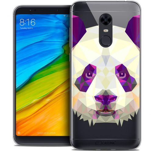 "Carcasa Crystal Gel Extra Fina Xiaomi Redmi 5 Plus (6"") Polygon Animals Panda"