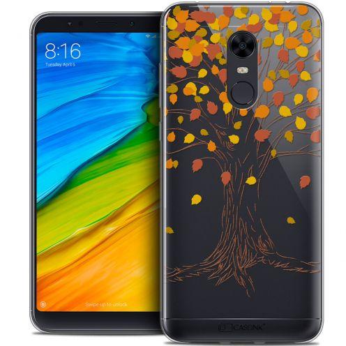 "Carcasa Crystal Gel Extra Fina Xiaomi Redmi 5 Plus (6"") Autumn 16 Tree"