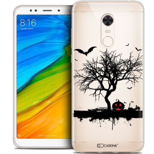 "Carcasa Crystal Gel Extra Fina Xiaomi Redmi 5 Plus (6"") Halloween Devil's Tree"