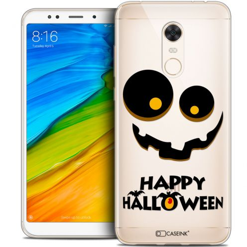 "Carcasa Crystal Gel Extra Fina Xiaomi Redmi 5 Plus (6"") Halloween Happy"