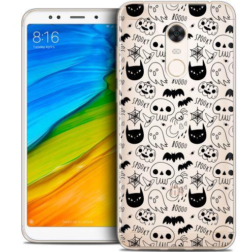 "Carcasa Crystal Gel Extra Fina Xiaomi Redmi 5 Plus (6"") Halloween Spooky"