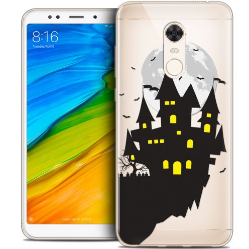 "Carcasa Crystal Gel Extra Fina Xiaomi Redmi 5 Plus (6"") Halloween Castle Dream"