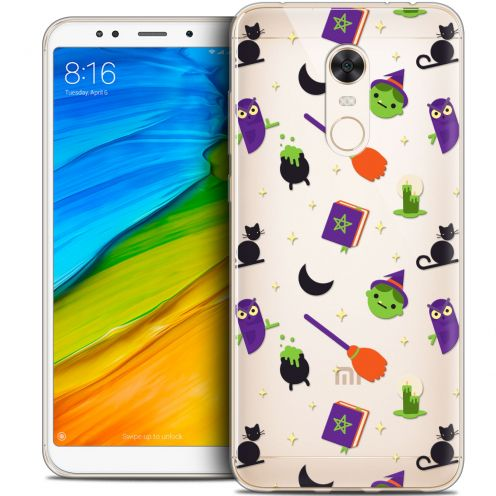 "Carcasa Crystal Gel Extra Fina Xiaomi Redmi 5 Plus (6"") Halloween Witch Potter"