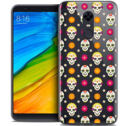 "Carcasa Crystal Gel Extra Fina Xiaomi Redmi 5 Plus (6"") Halloween Skull Halloween"