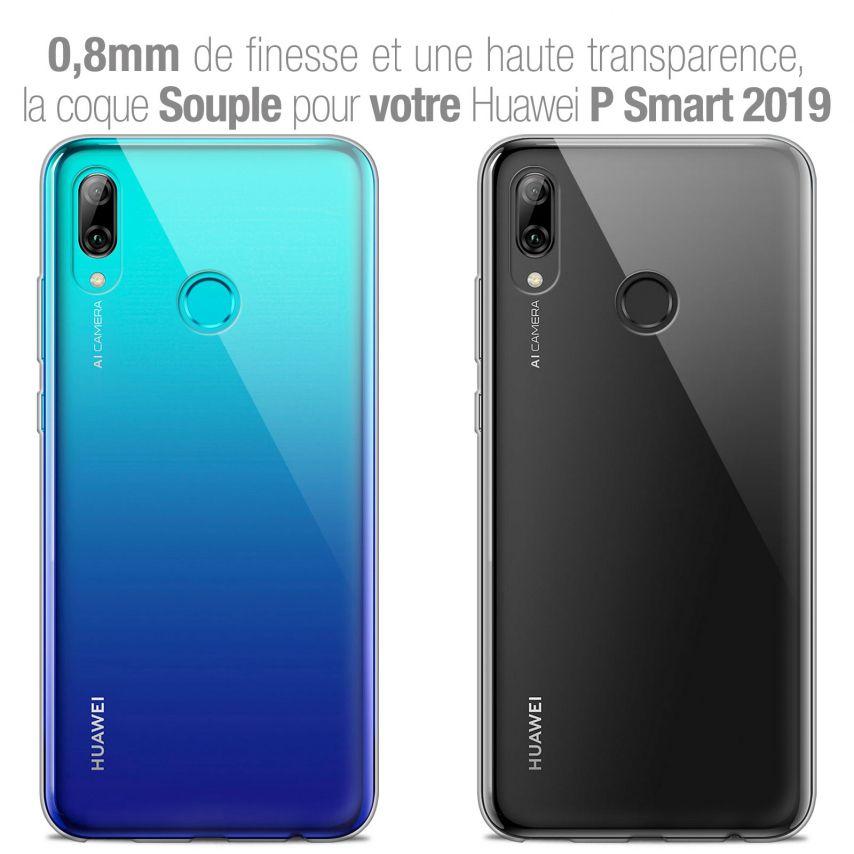 "Carcasa Extra Fina 1 mm Flexible Crystal Clear para Huawei P Smart 2019 (6.21"")"