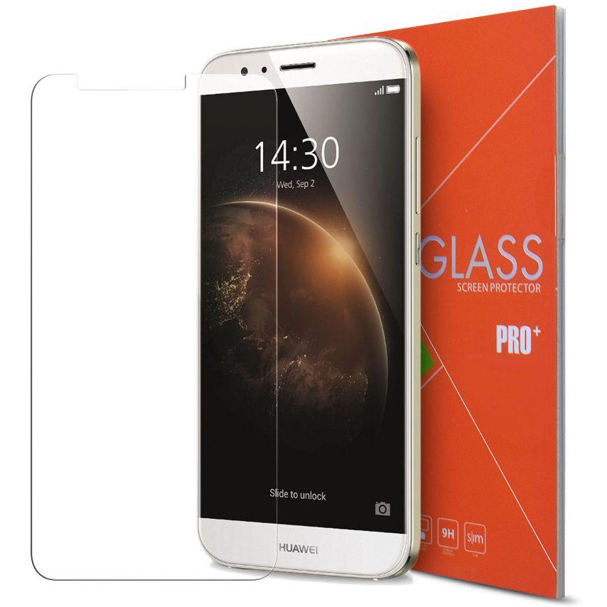 Protección de pantalla de vidrio templado Huawei Ascend G8 Glass Pro+ 9H Ultra HD 0.33mm