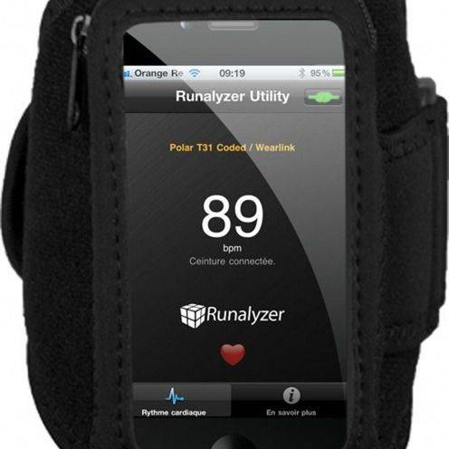 Brazalete Runalyzer ® iPhone 3GS / iPhone 4 / 4s / S Touch