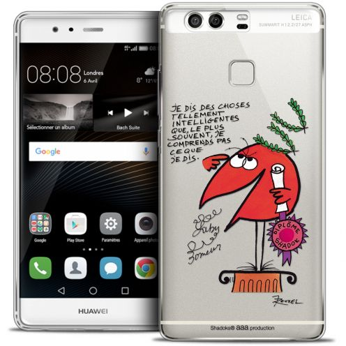 Carcasa Crystal Rigide Extra Fina Huawei P9 Les Shadoks® Intelligent
