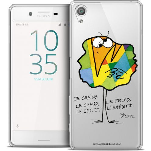 Carcasa Crystal Extra Fina Xperia X Les Shadoks® Chaud ou Froid