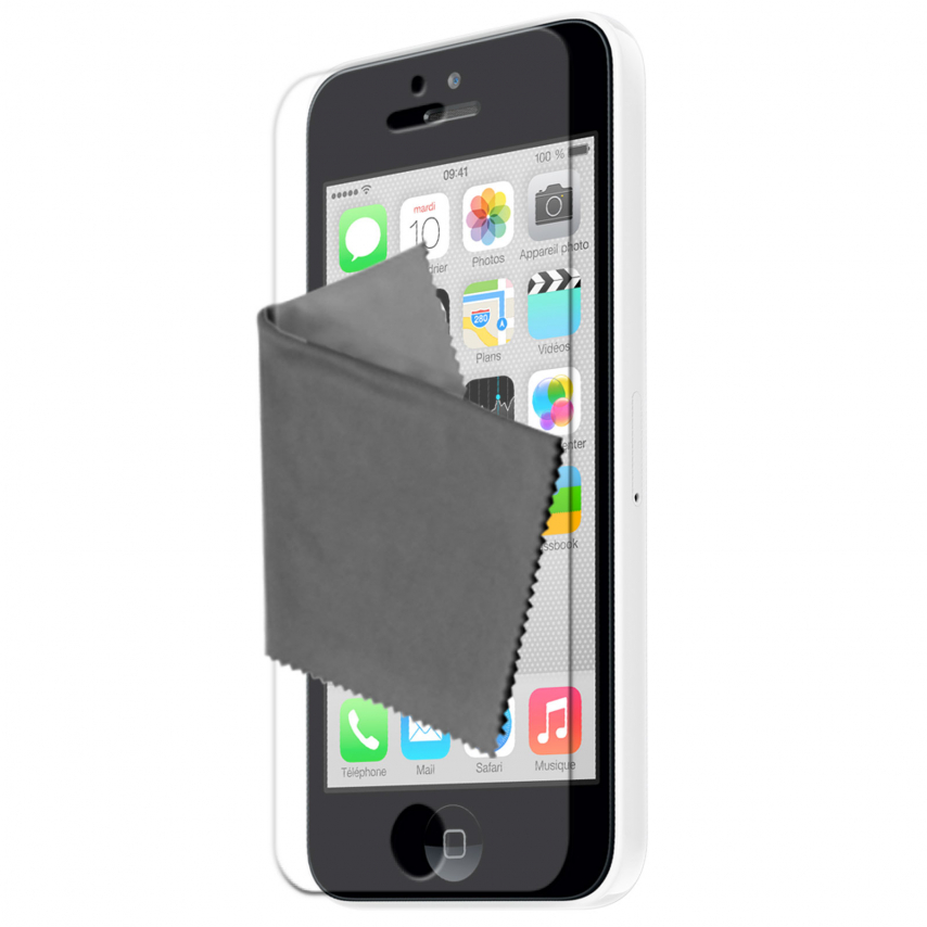 Películas de Protección iPhone 5C Clubcase® HQ Lote de 5