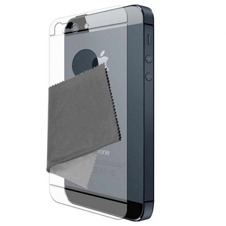 Películas de Protección trasera iPhone 5 Clubcase ® HQ Lote de 2