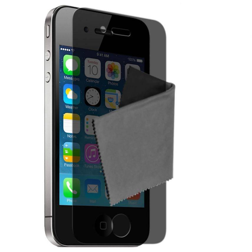 Películas de Protección Privacy Antirreflejos iPhone 4 / 4S Clubcase ® Lote de 2