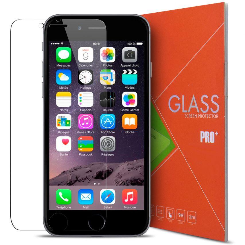 "Protección de pantalla de vidrio templado Apple iPhone 6/6S 4.7"" Glass Pro+ 9H Ultra HD 0.33mm"
