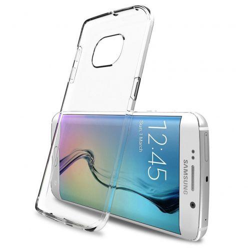 """Casco Flexible """"Crystal Clear"""" para Samsung Galaxy S6 Edge+ / Plus"""