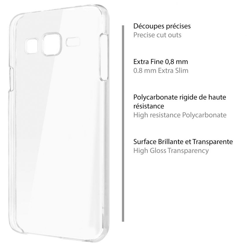 Carcasa Samsung Galaxy J7 Crystal Extra Fina Transparente